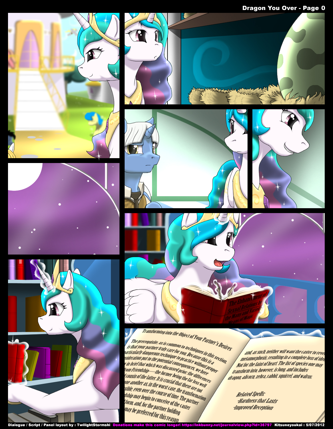 [Kitsune Youkai] Dragon You Over (My Little Pony: Friendship Is Magic) (6-18-12 UPDATE)