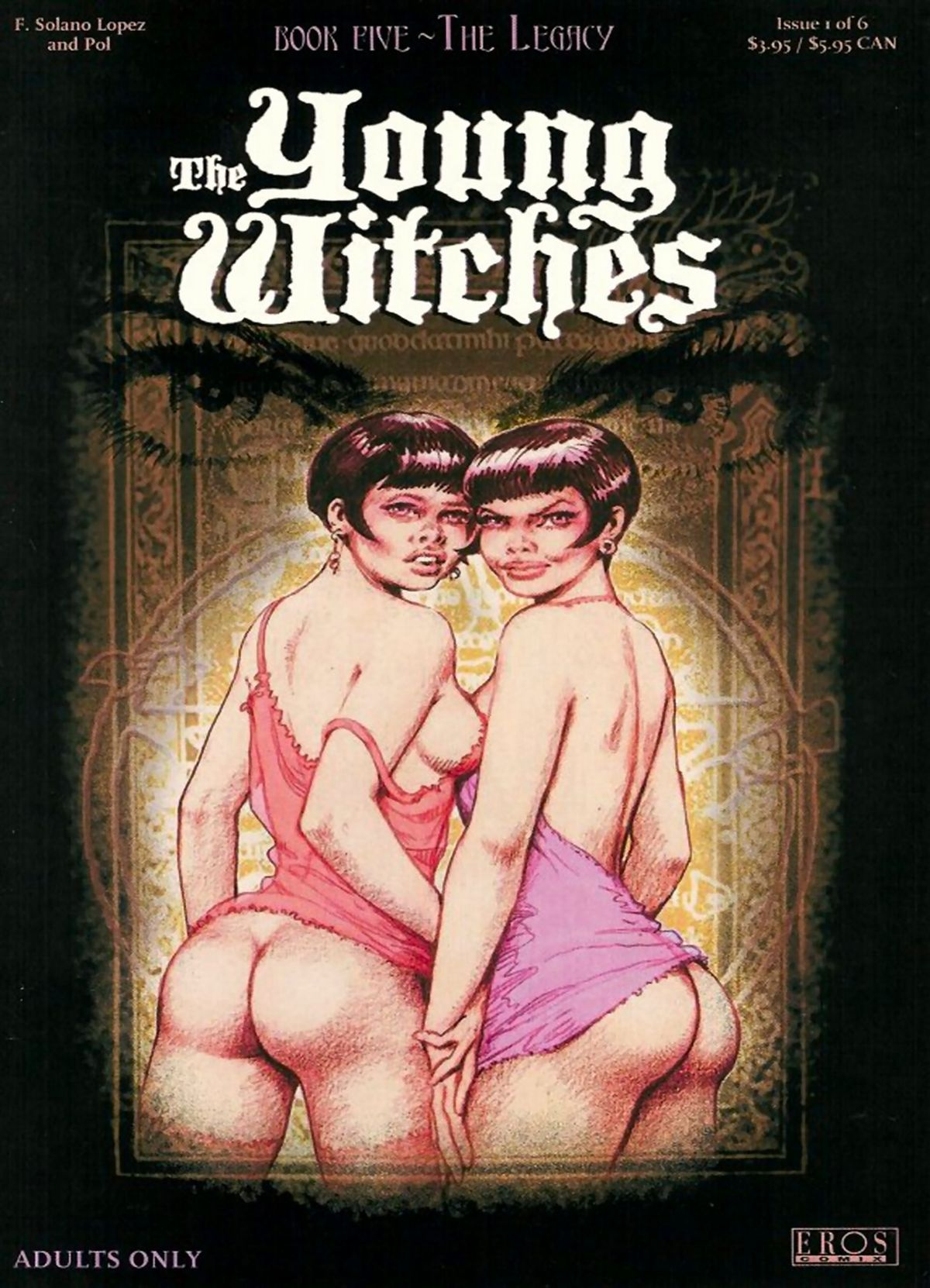 [Solano Lopez & Barreiro] The Young Witches - Book #5: The Legacy